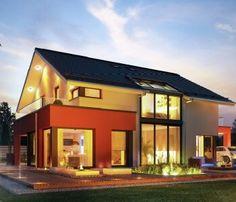 Moderne häuser versetztes satteldach  Moderne Häuser Bilder: Lichtdurchflutetes Satteldach | Satteldach ...