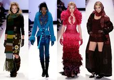 Jay McCarroll's knitwear-inspired collection on S1 of Project Runway still makes it one of the best collections to go out on a PR finale.