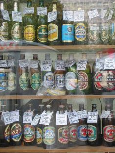 Selection of Russian beer, St Petersburg, Russia by Lup Keen Ng.