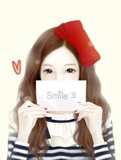 cute anime y / Pat Tyler Korean Anime, Korean Art, Cute Korean, Asian Art, Lovely Girl Image, Cute Girl Pic, Korean Illustration, Cute Illustration, Deviant Art