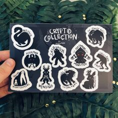 Dark Creatures, Magical Creatures, The Jersey Devil, Mothman, Waterproof Stickers, Cryptozoology, Pin And Patches, Pokemon, Cute Art