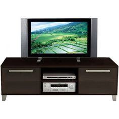 "Brooklyn Espresso TV Stand, for TVs up to 60"" $245"