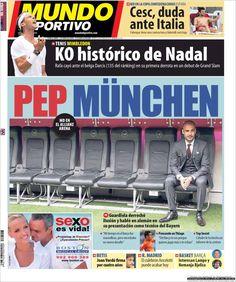 Los Titulares y Portadas de Noticias Destacadas Españolas del 25 de Junio de 2013 del Diario Mundo Deportivo ¿Que le parecio esta Portada de este Diario Español?