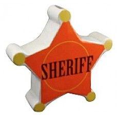 Childrens Ceramic Money Box - Sheriffs Badge