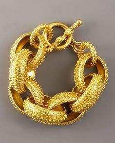 love chunky gold jewelry