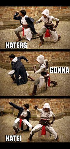 AC - Haters gonna Hate by Kagoya-chan.deviantart.com on @deviantART