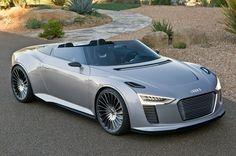 Audi e-tron Spyder 2014 (electric concept car)
