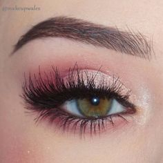 Trendy Hochzeit Make-up Green Eyeshadow Lashes 65 Ideen - . # quinceanera makeup pink Trendy Hochzeit Make-up Green Eyeshadow Lashes 65 Ideen - Glitter Eye Makeup, Pink Makeup, Cute Makeup, Gorgeous Makeup, Hair Makeup, Dress Makeup, Pink Eye Makeup Looks, Awesome Makeup, Simple Makeup