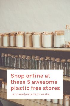 These awesome online stores sell everything you need from plastic bags to pretty jars, plant based skincare to organic pulses. Let's get shopping. For information on daily bargains, please click the link. No Plastic, Plastic Bags, Plastic Spoons, Plastic Canvas, Zero Waste Store, Reduce Reuse Recycle, Budget, Clean Living, Slow Living