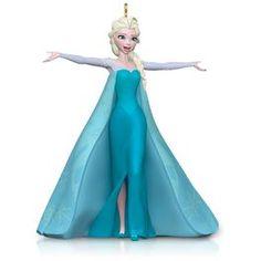 Disney Frozen Let It Go Queen Elsa Ornament,