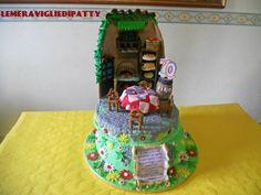 torta tegola; 70 anni