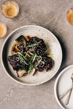 SOY-BRAISED SHORT RIBS
