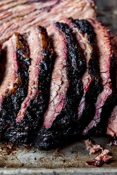 Get ready to create the most juicy, mouthwatering Texas Smoked Brisket in your own backyard using a wood or pellet smoker. These are all my best tips & tricks for making the best smoked beef brisket that is perfect for your next outdoor BBQ. Texas Brisket, Bbq Brisket, Smoked Beef Brisket, Traeger Brisket, Best Smoked Brisket Recipe, Traeger Smoker, Texas Bbq, Bbq Ribs, How To Cook Brisket