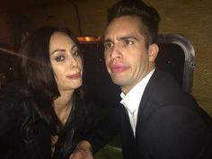 Brendon and Sarah Urie I DIDN'T RECOGNIZE BRENDON AT FIRST