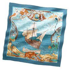New Fall 2009 Hermes Scarves - Christopher Columbus