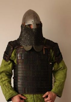 helmet witch chainmail