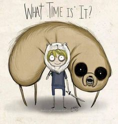 Adventure Time!! :D Tim Burton style!