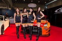 Tokyo Virtual Circuit -Tokyo Auto Salon 2014 Show Girl (Makuhari, Chiba, Japan)