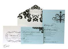 Ceci New York Regale Wedding Invitations  #wedding #invitations #stationary