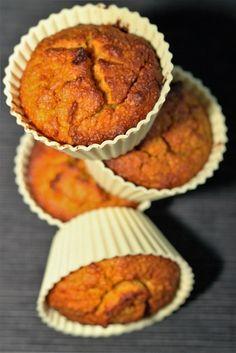 Bezlepkové dýňové muffiny /Gluten-free pumpkin muffins/ Zdravé, nízkosacharidové, bezlepkové recepty. (Healthy, low carb, gluten free recipes.)