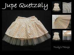 Jupe Quetzaly de Trudy's Things - patron gratuit 2/10 ans