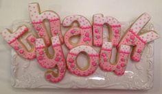 Thank You Cookies - Truffle Pop Shoppe     Jeanna @ Truffle Pop Shoppe