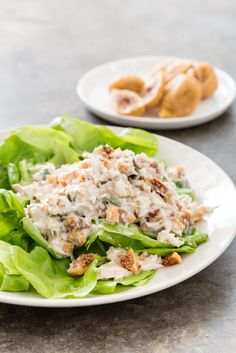 This tuna salad recipe will have you take two. Mix up your tuna salad routine with basil and California Figs. Fig Recipes, Tuna Recipes, Onion Recipes, Seafood Recipes, Salad Recipes, Americas Test Kitchen, Tuna Salad, Figs, Salmon Burgers