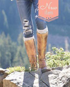 (**new item**) Laurel Boot Socks