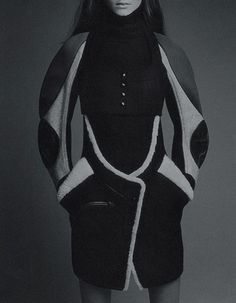 System Issue #1 shot by Patrick Demarchelier  balenciaga fall/winter 2003-2004