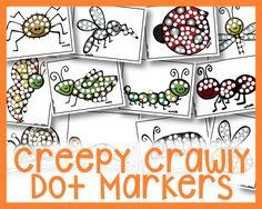 Creepy Crawly Dot Markers