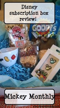 Interested in getting a box filled with Disney goodies delivered to your door every month?  Check out the Mickey Monthly subscription box!