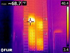 Using an infrared camera to find an overloaded circuit | Structure Tech Home Inspections