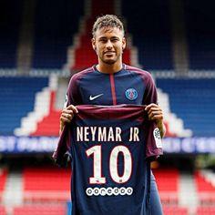 1ac47cba900  10 Neymar JR Paris Saint-Germain FC Football Jersey - Authentic Mens 17