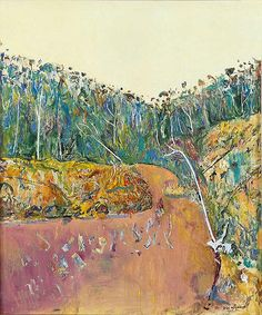 Landscape with Goose painting by the famous Australian painter Fred Williams displays paintings, biography, art quotes and Abstract Landscape Painting, Landscape Art, Landscape Paintings, Landscape Photography, Abstract Art, Landscapes, Australian Painting, Australian Artists, Fred Williams