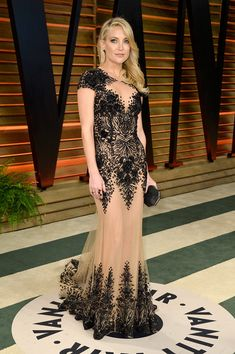 Beaded Zuhair Murad for the Vanity Fair Oscars Party - Style Crush: Kate Hudson on the Red Carpet - Photos