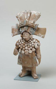 Late Classic Maya standing Official with removable headdress/ Prineston University Arts Museum Colombian Art, Maya Civilization, South American Art, Inka, Art Premier, Art Sculpture, Mesoamerican, Ancient Art, Archaeology