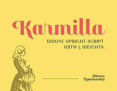 "Check out new work on my @Behance portfolio: ""Karmilla Typeface (Free)"" http://be.net/gallery/51830871/Karmilla-Typeface-(Free)"