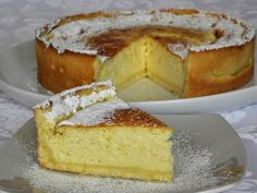 Tarta de ricotta  thermomix My Recipes, Sweet Recipes, Favorite Recipes, Pie Dessert, Dessert Recipes, Delicious Desserts, Yummy Food, Pastry And Bakery, Pie Cake