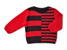 Un pull flashy pour la rentrée ! Et original avec ça… Présenté dans le n° de septembre 2011 d'Enfant magazine, il est réalisé en jersey endroit et c'est un jacquard qui lui donne son effet décalé.