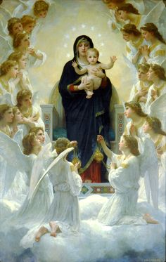 The Virgin with Angels, 1900 - William-Adolphe Bouguereau
