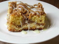 Gluten Free Cream Cheese Danish Coffee Cake with Mega Streusel & Lemon Glaze is the decadent, indulgent, must-have brunch recipe of the year.