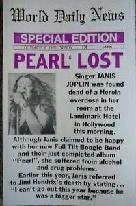 Janis Joplin Cause Of Death… Newspaper Front Pages, Newspaper Article, Janis Joplin, Beatles, The Distillers, Elvis Presley, Newspaper Headlines, Newspaper Report, Michael Jackson