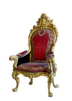 Throne, Ruler Chair, Chair, Seat