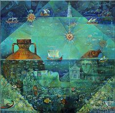 Valeri Tsenov, Cycle antique Seas