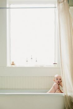 A simple moment in the tub.   #motherhood #baby  #photography
