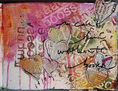art journal with dina wakley