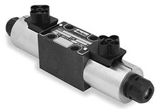 Parker D1VW002CNJWM Solenoid Operated Hydraulic Directional Control Valve #Parker