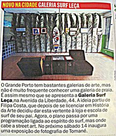 Surf Leça#Time Out Magazine#Junho2012#Portugal #SurfArtGallery