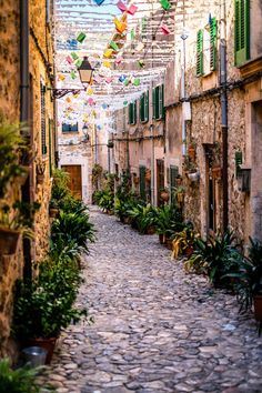 Streets of Majorca, Spain. Miss this island so much!