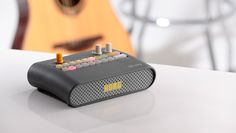Energize your practices and performances with diverse rhythm patterns! The KR mini - an easy, simple and compact rhythm machine with a built-in speake...
